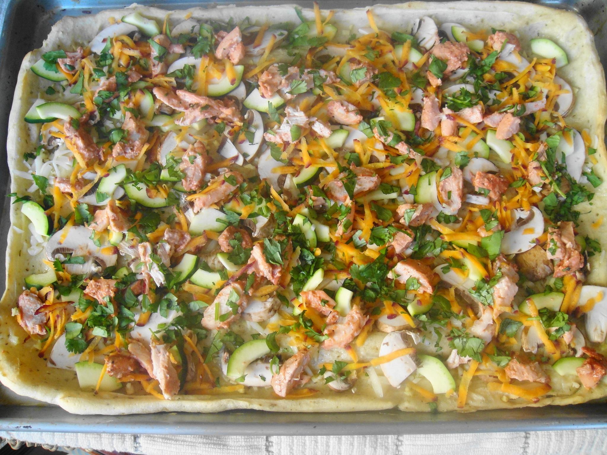 tandoori chicken pizza toppings