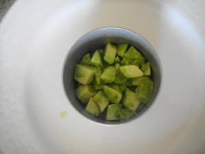 avocado in ring first layer