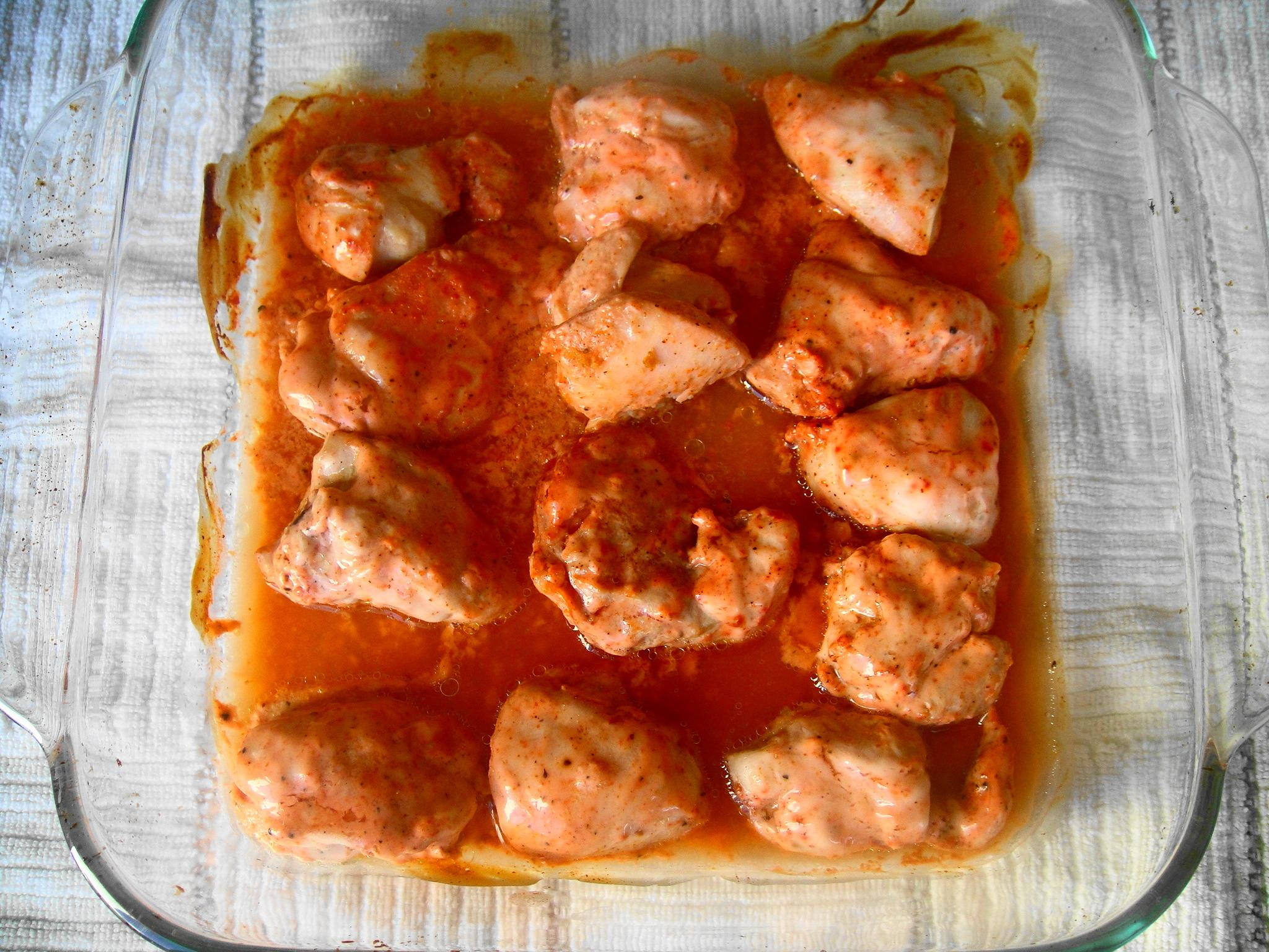 tandoori chicken cooked