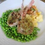 close up of lamb gremolata close up