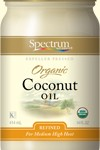 organic coconut oil bottle