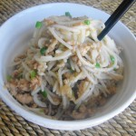 Apoh's Tossed Noodles (Yam Mein)
