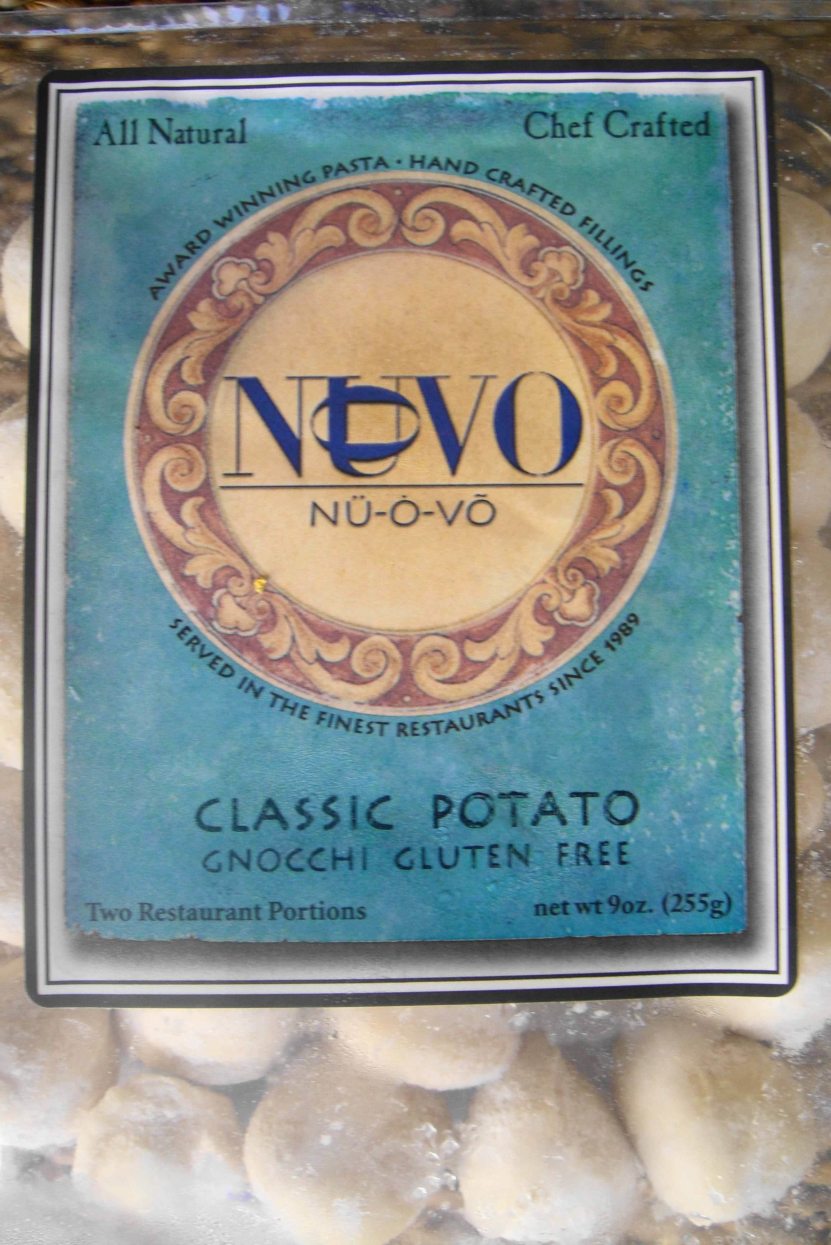 gnocchi brand nuvo package