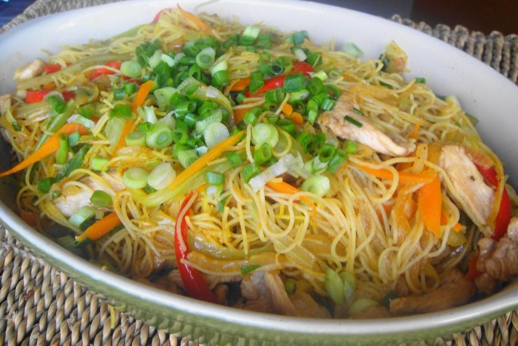 singapore noodles finished large