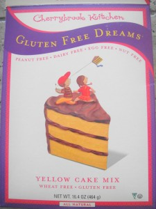 Cherrybrook Kitchen GF Dream Cake Mix box