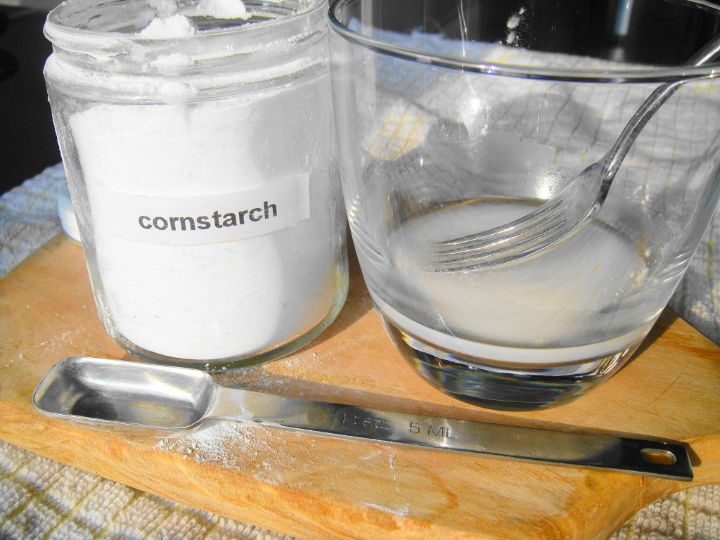 cornstarch and slurry