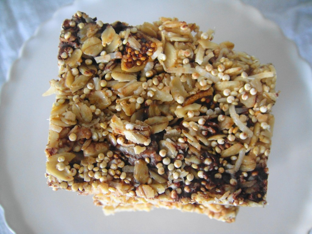 granola bar close up