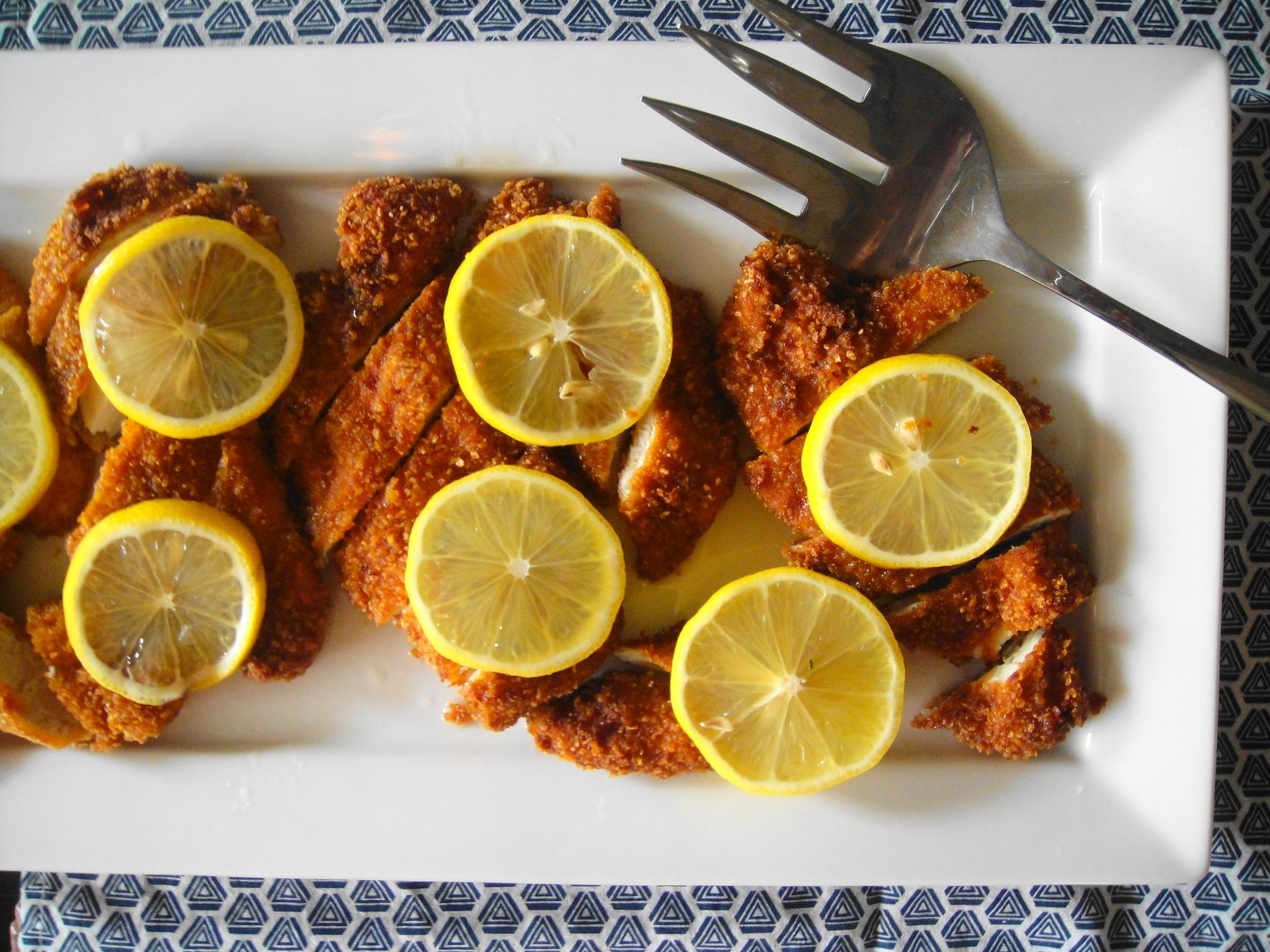 Mom's Lemon Chicken