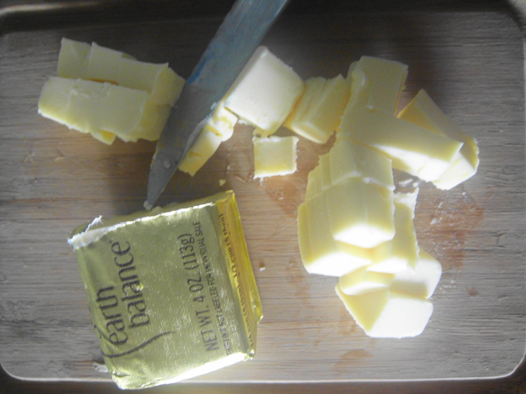 eb vegan butter in cubes