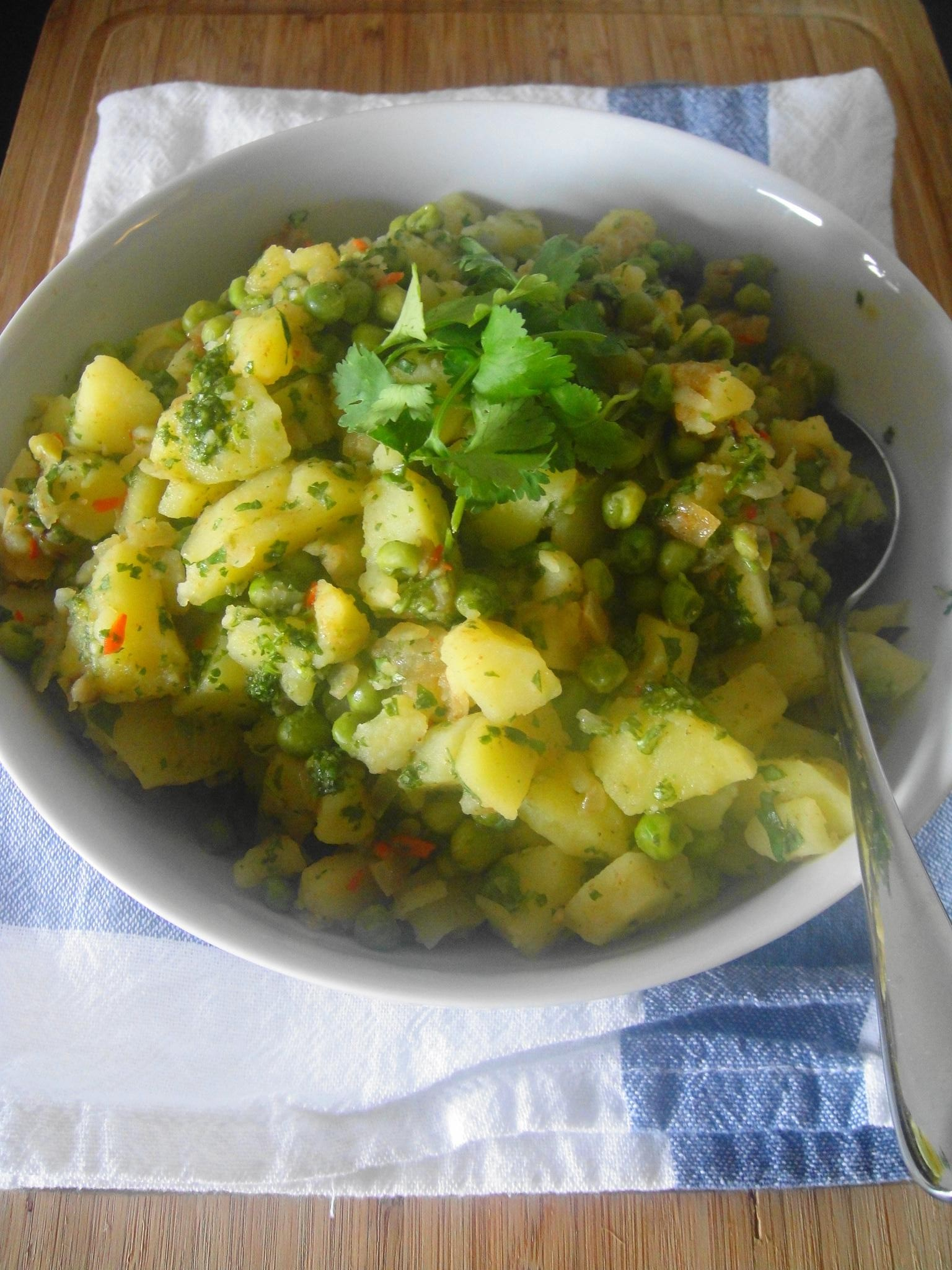Spiced Samosa Potato Salad