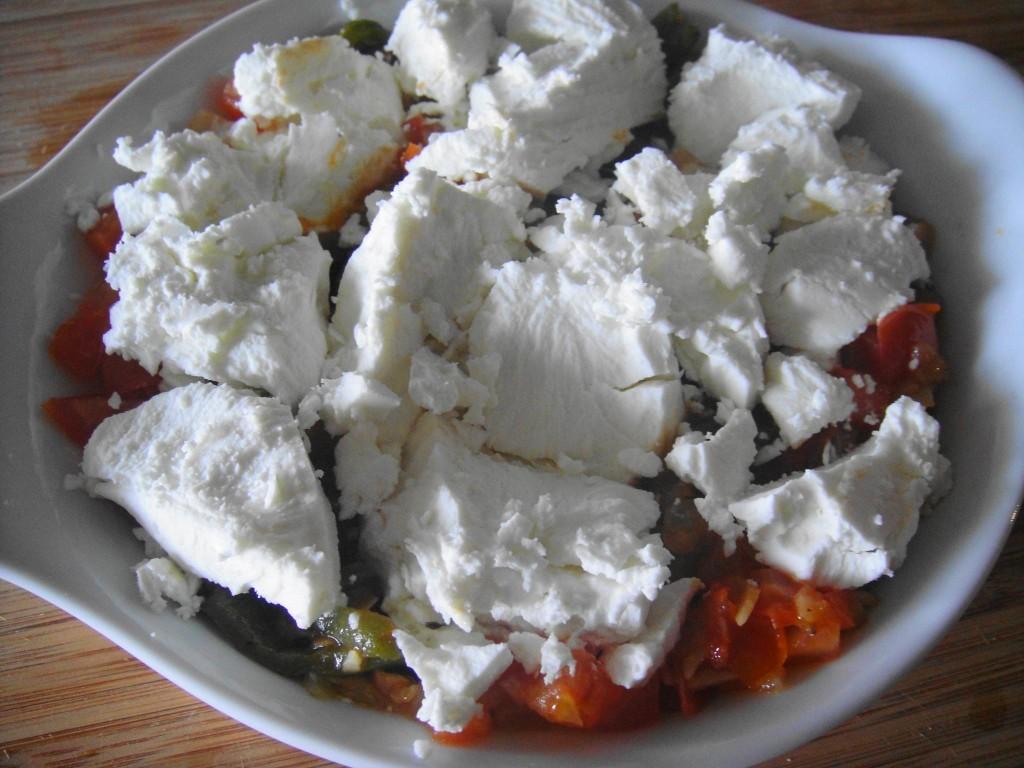 goat cheese ready to bake fundido