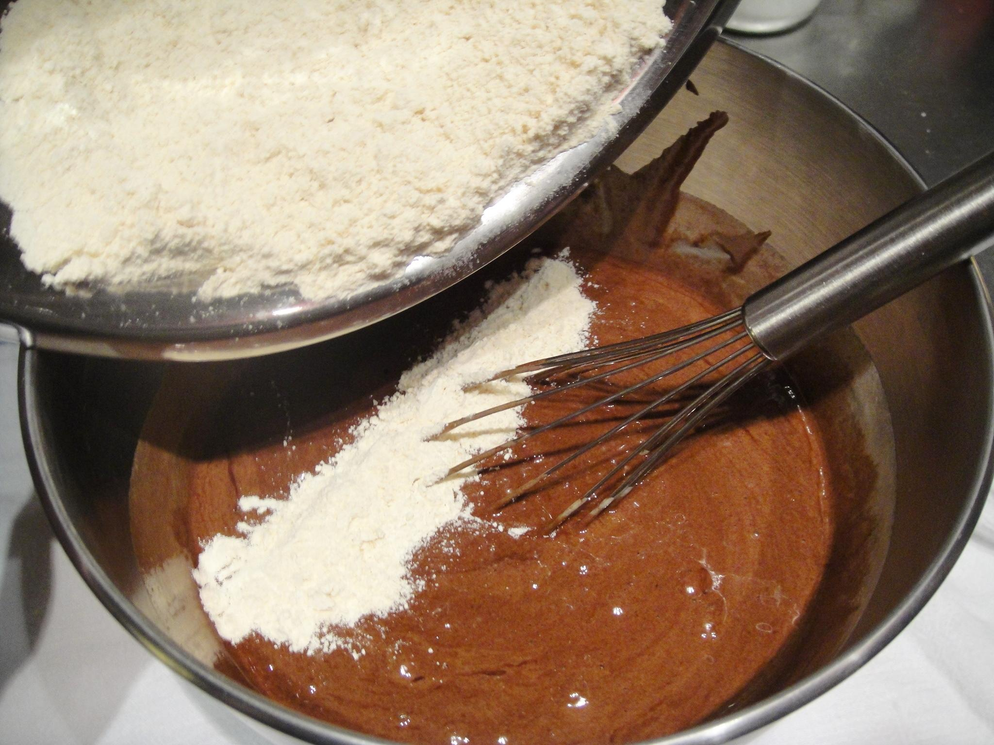 add dry ingredients