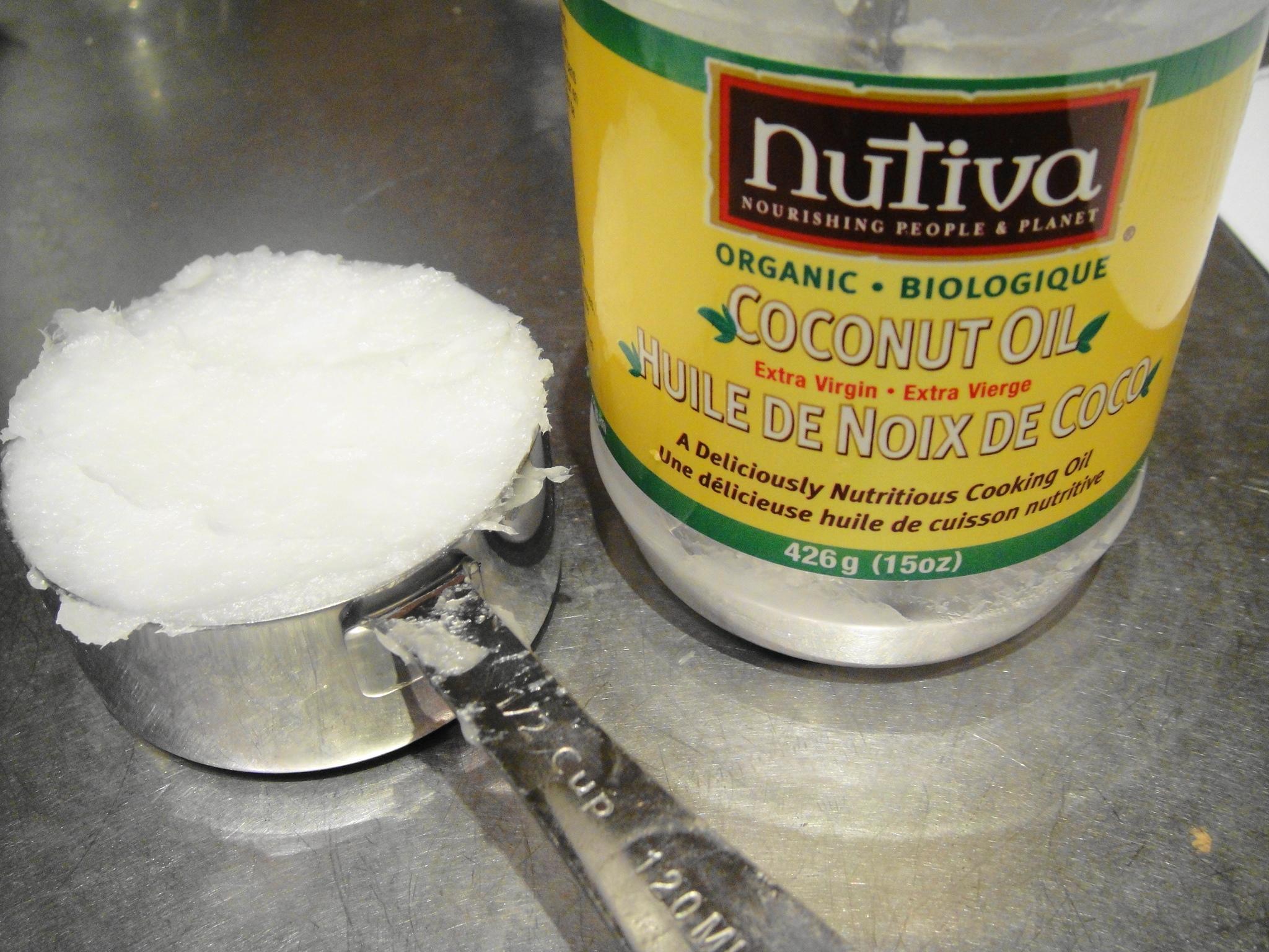 coconut oil half cup