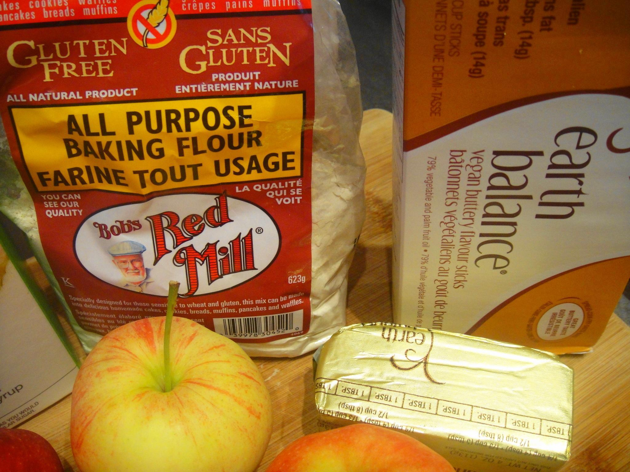 vegan butter bobs GF flour