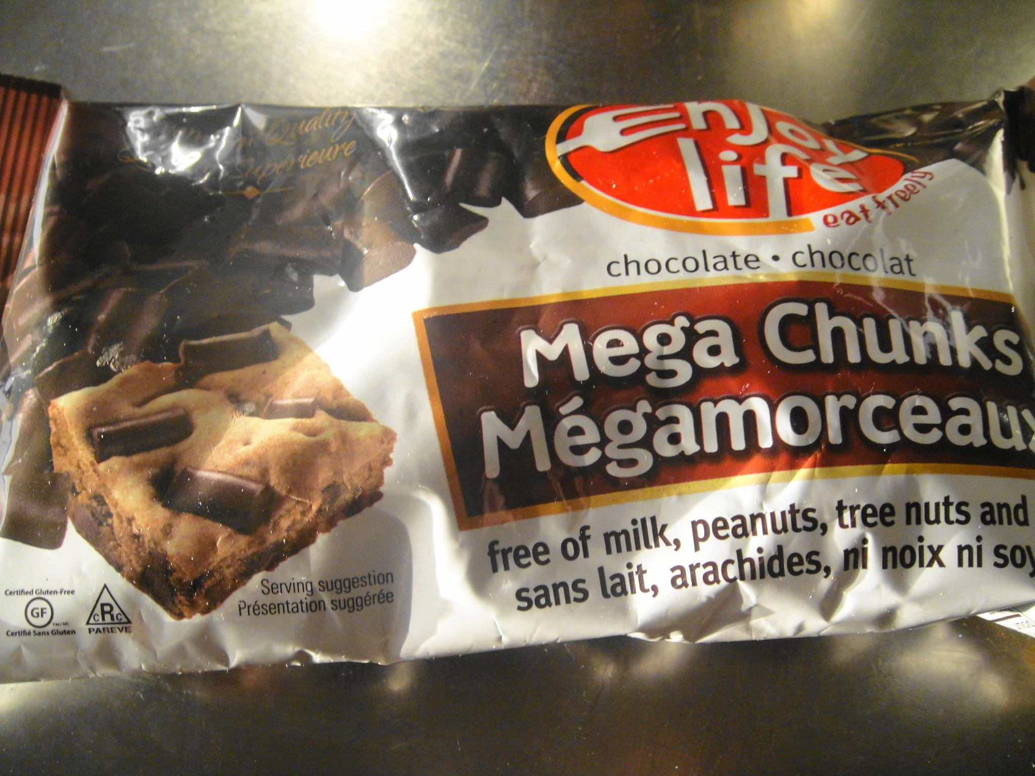 GF mega chunk chocolate