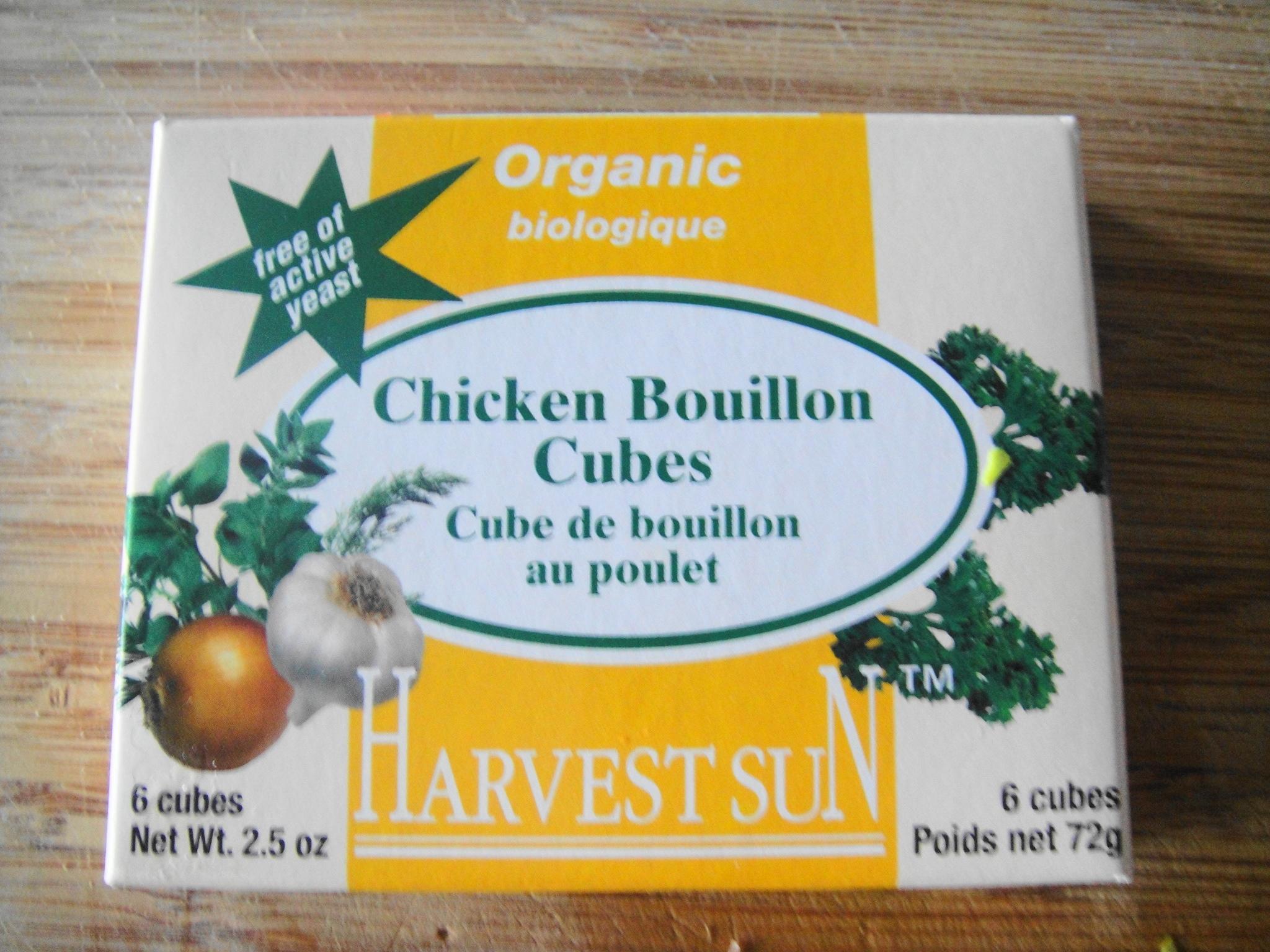 organic chicken bouillon