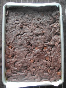 brownie baked
