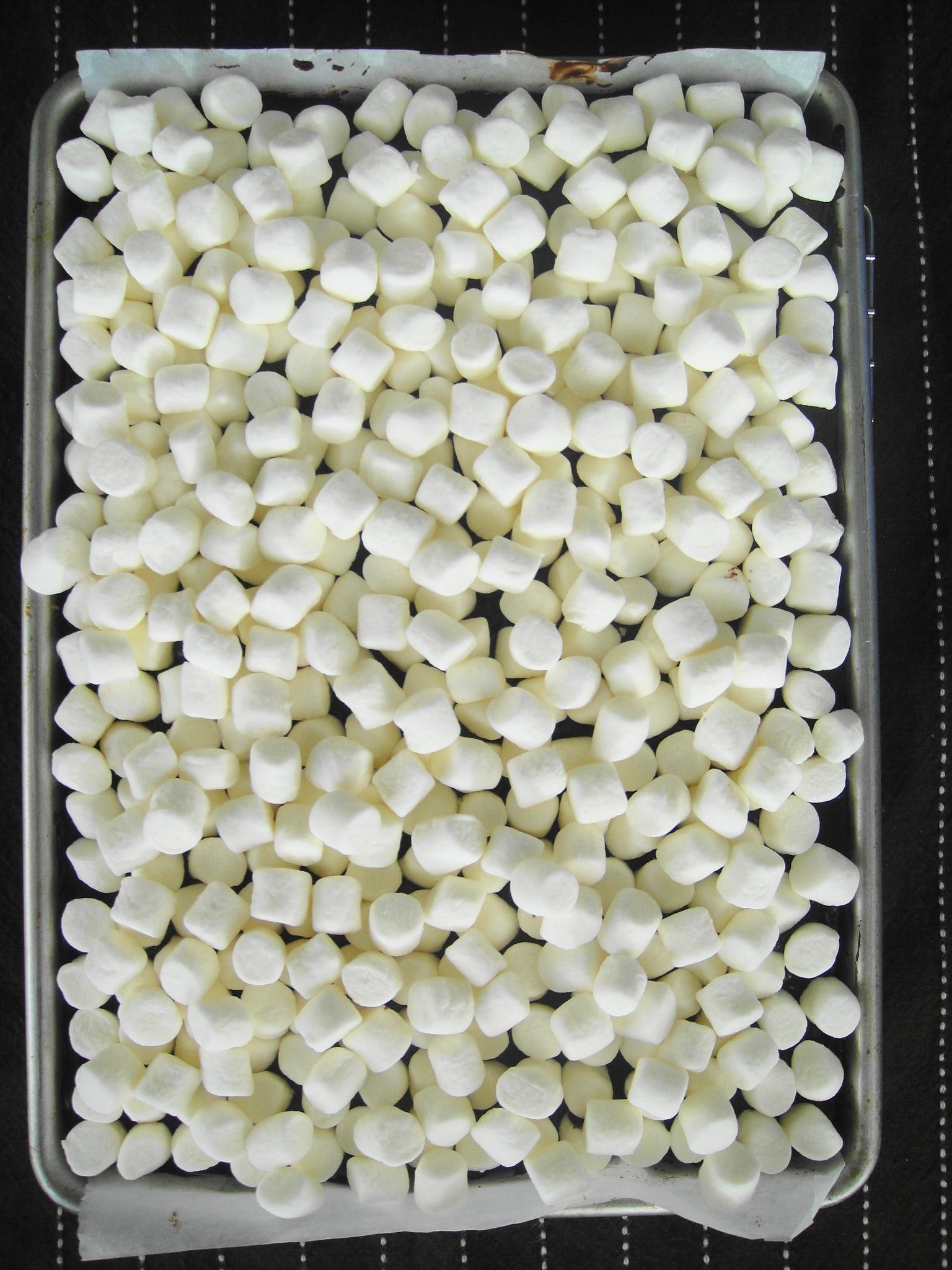 marshmallow ready to bake