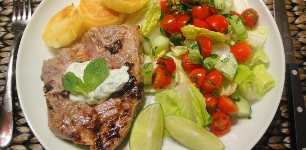Chili Lamb Chops