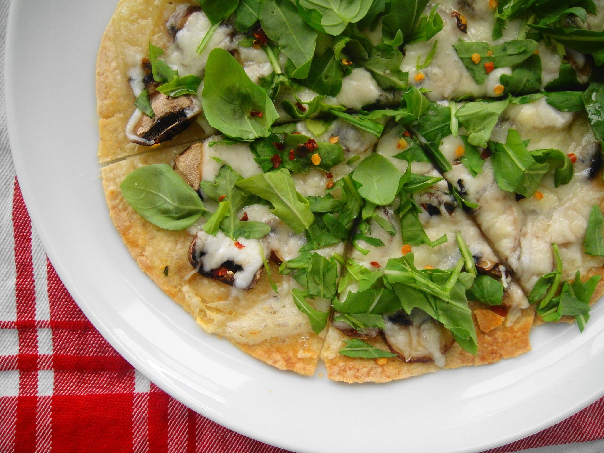 Fast Flatbread Pizza