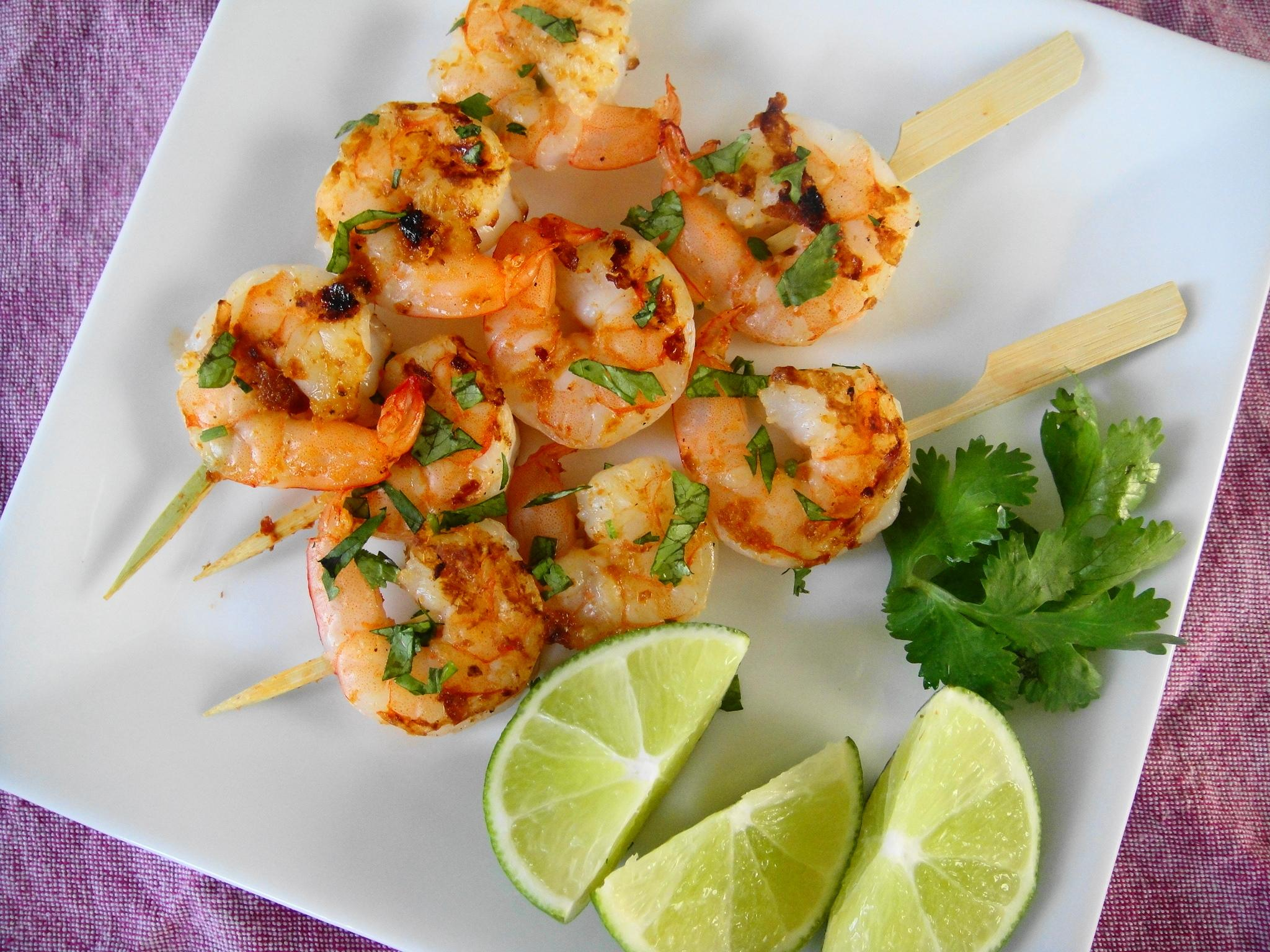 Thai Shrimp Skewers