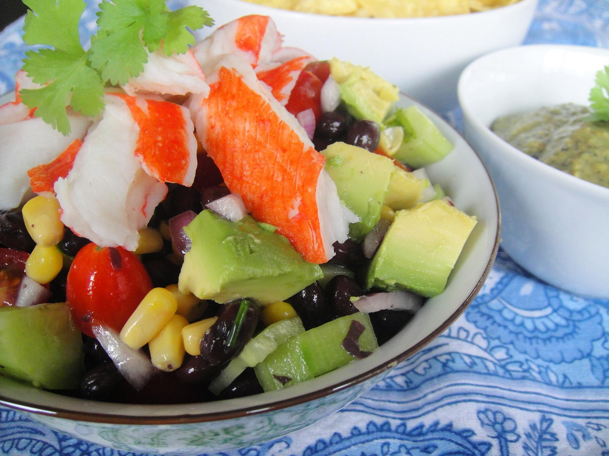 Mexican Salad close up