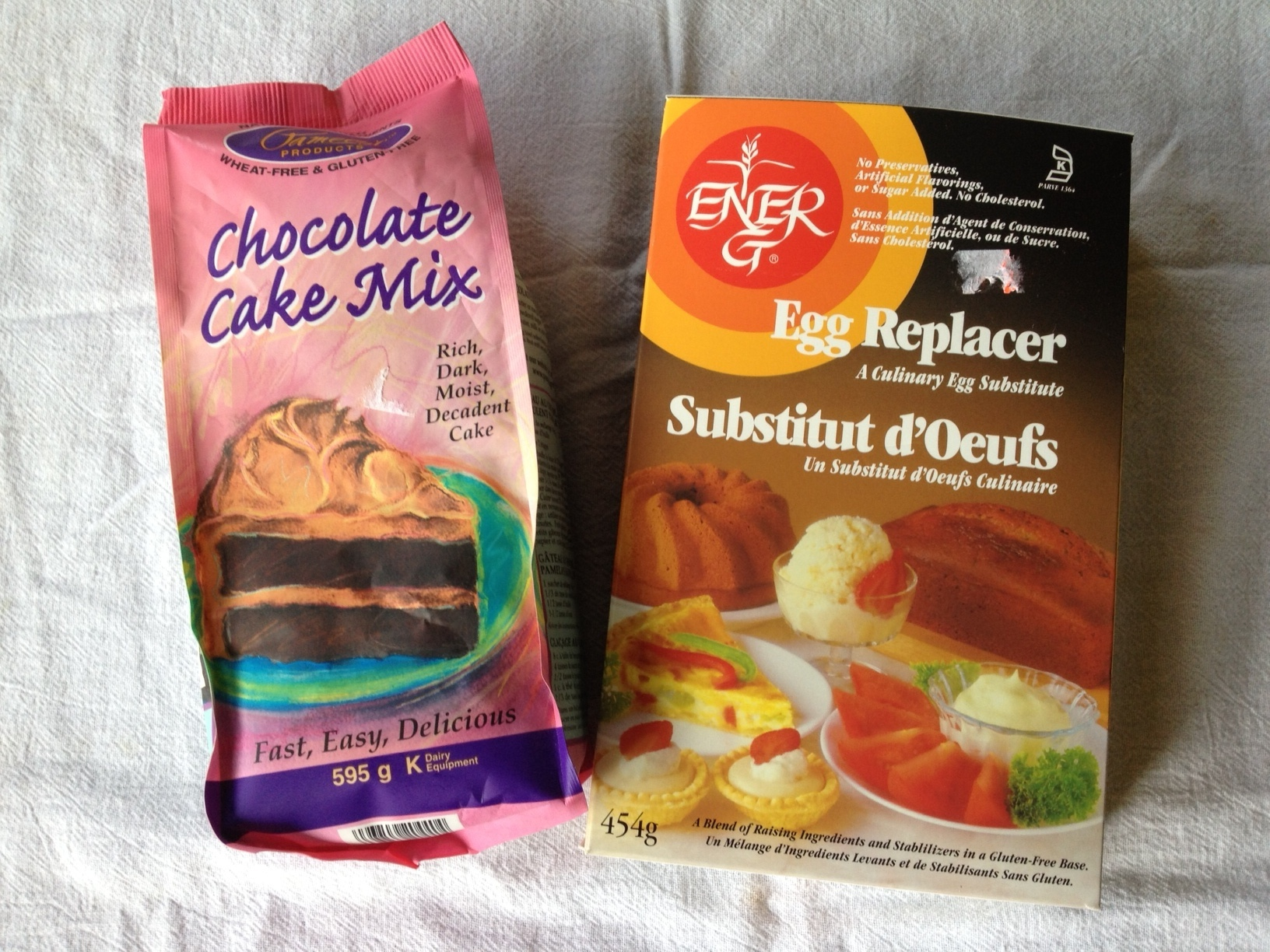 cake mix egg replacer
