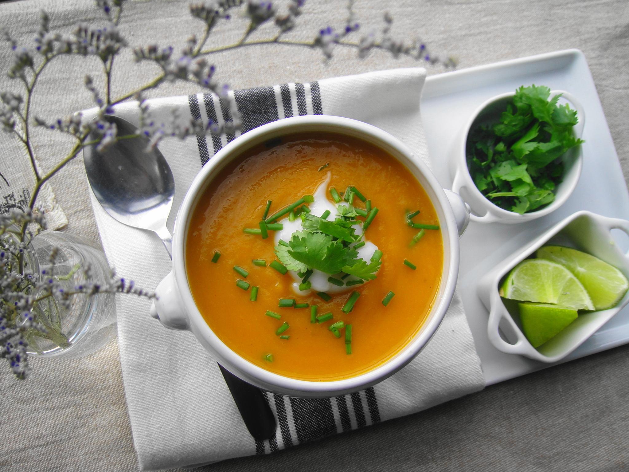 Emily's Butternut Squash & Carrot Soup