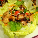 Five-Spice Chicken Lettuce Wraps