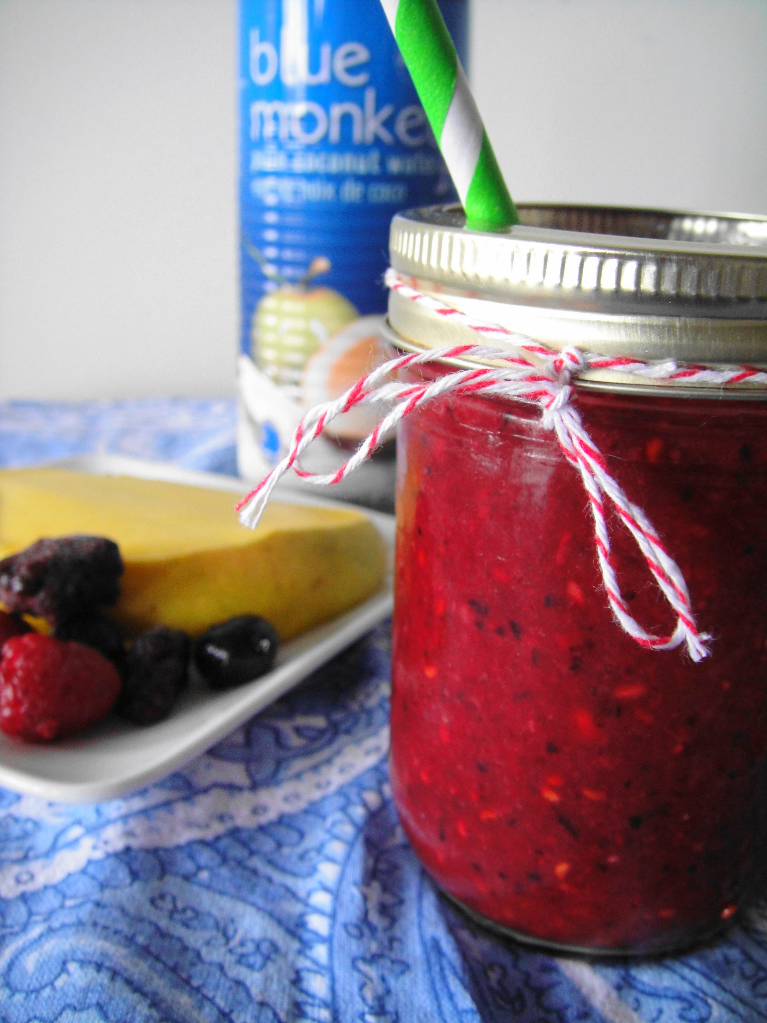 Fruit and Coconut Water Smoothie
