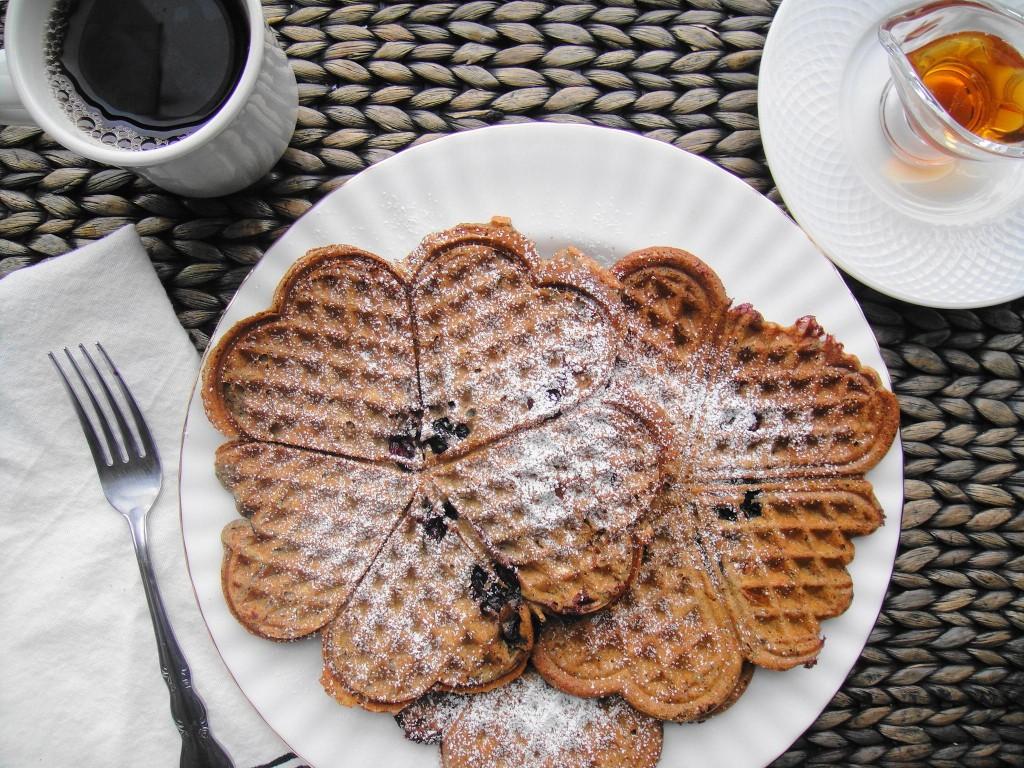 buckwheat pancakes top view