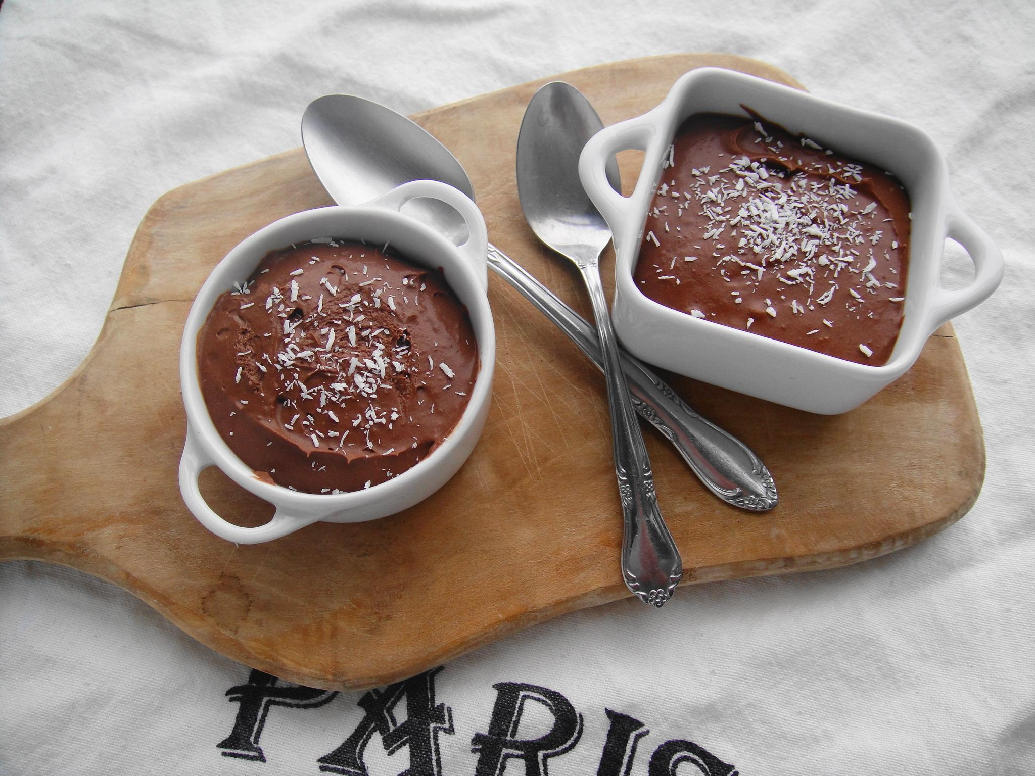 3 Ingredient Chocolate Mousse (Dairy & Egg Free)