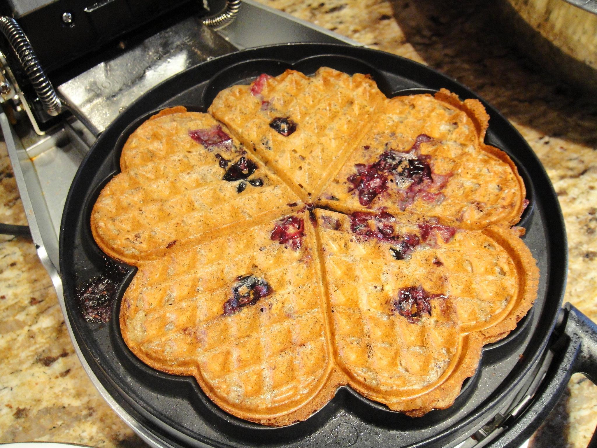 waffle in maker