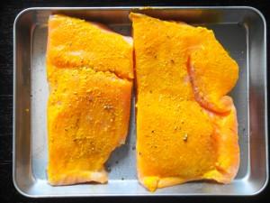 1. Salmon marinade