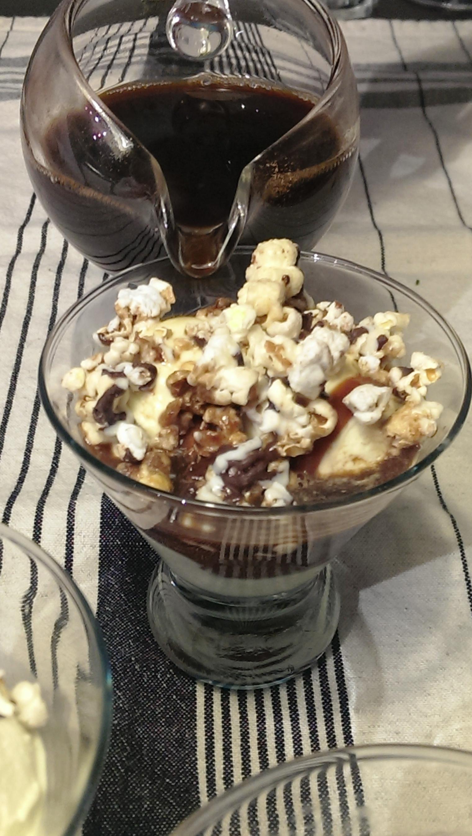 My Cousin Vinny (Caramel Popcorn Affogato)