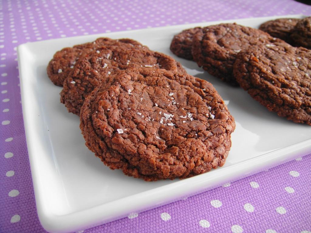 nutella cookie close up