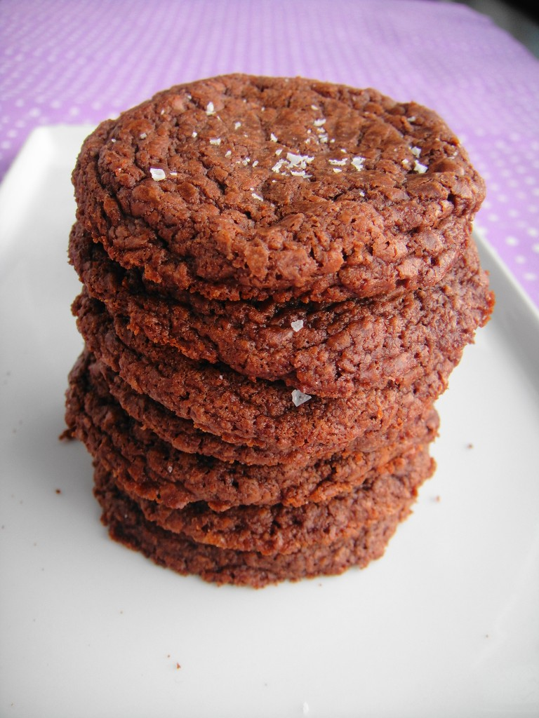 nutella cookie stack