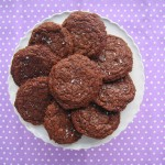 Nutella Cookies with Sea Salt (Gluten-Free) | FreshnessGF.com