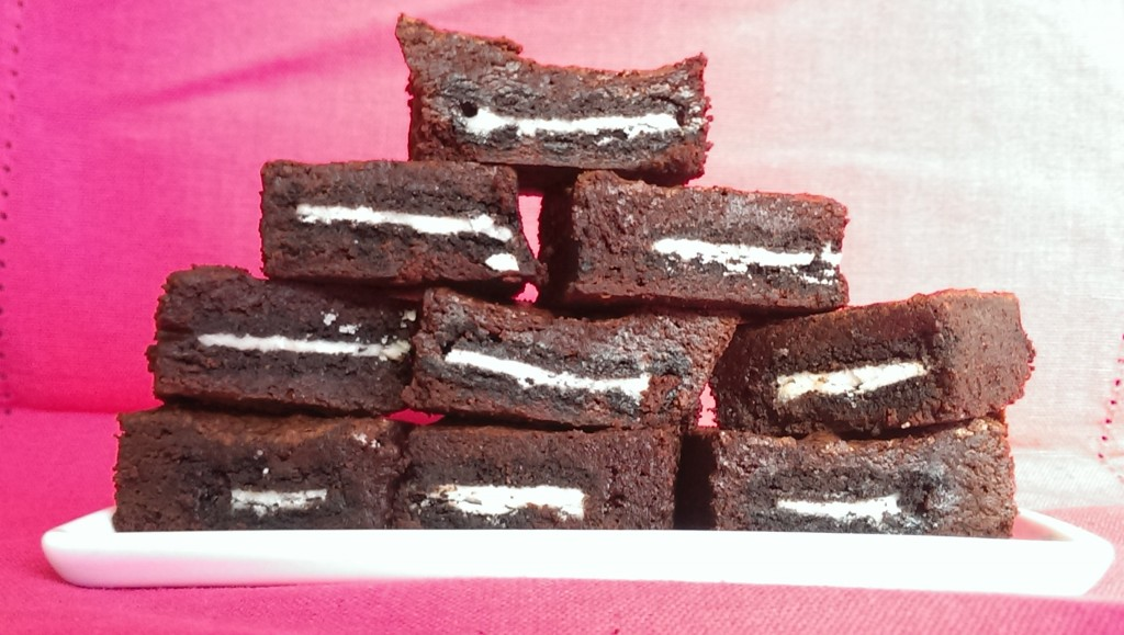 Broreo - Gluten Free Brownies with Oreos