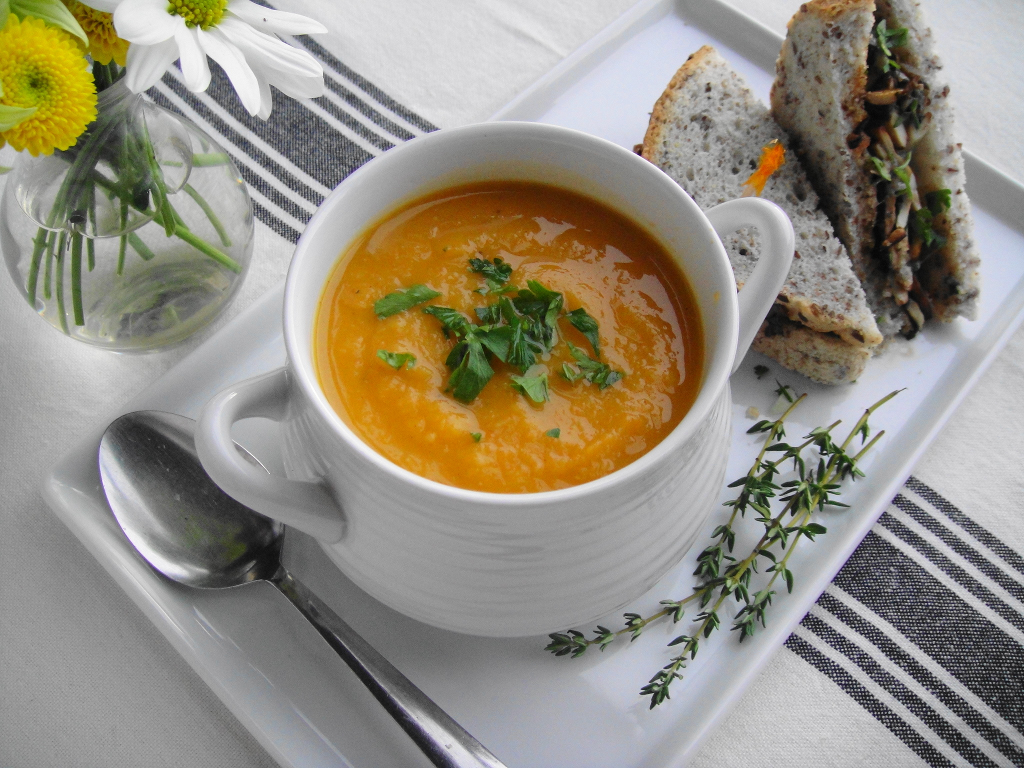 Roasted Vegetable Soup | FreshNess