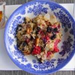 Quinoa Oatmeal Breakfast Bake | www.freshnessgf.com