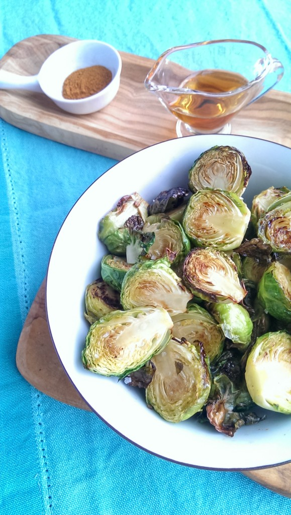 Maple Cayenne Brussels Sprouts | freshnessgf.com