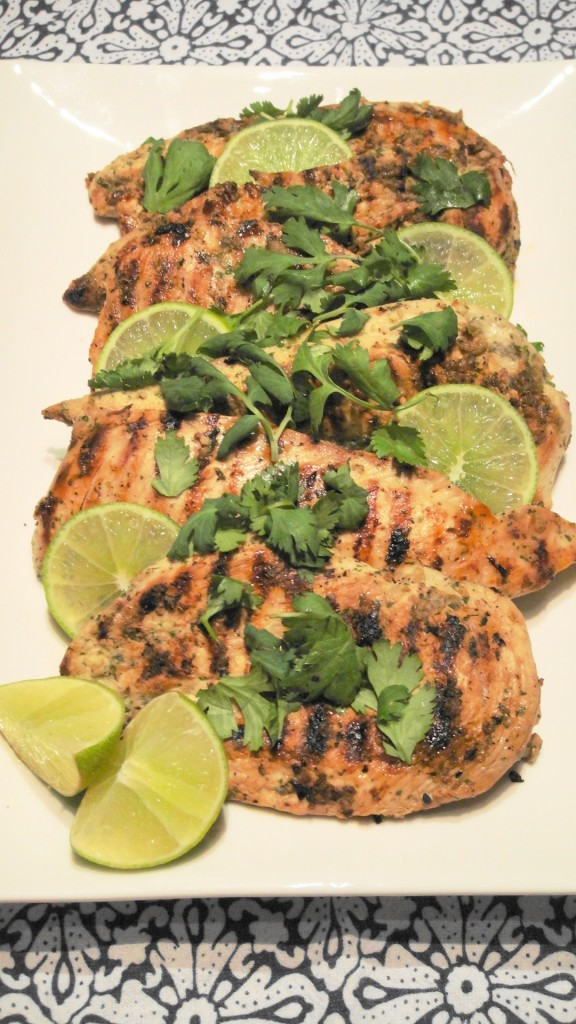 Grilled Coriander Lime Chicken| Freshnessgf.com