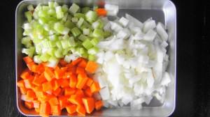 carrot celery onion