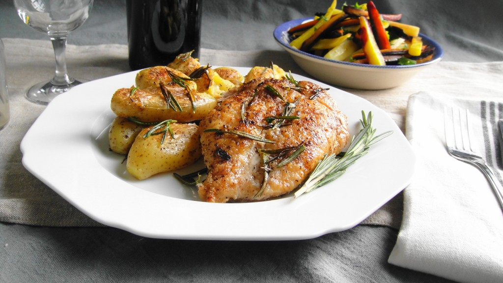 Pan Roasted Chicken | Freshnessgf.com