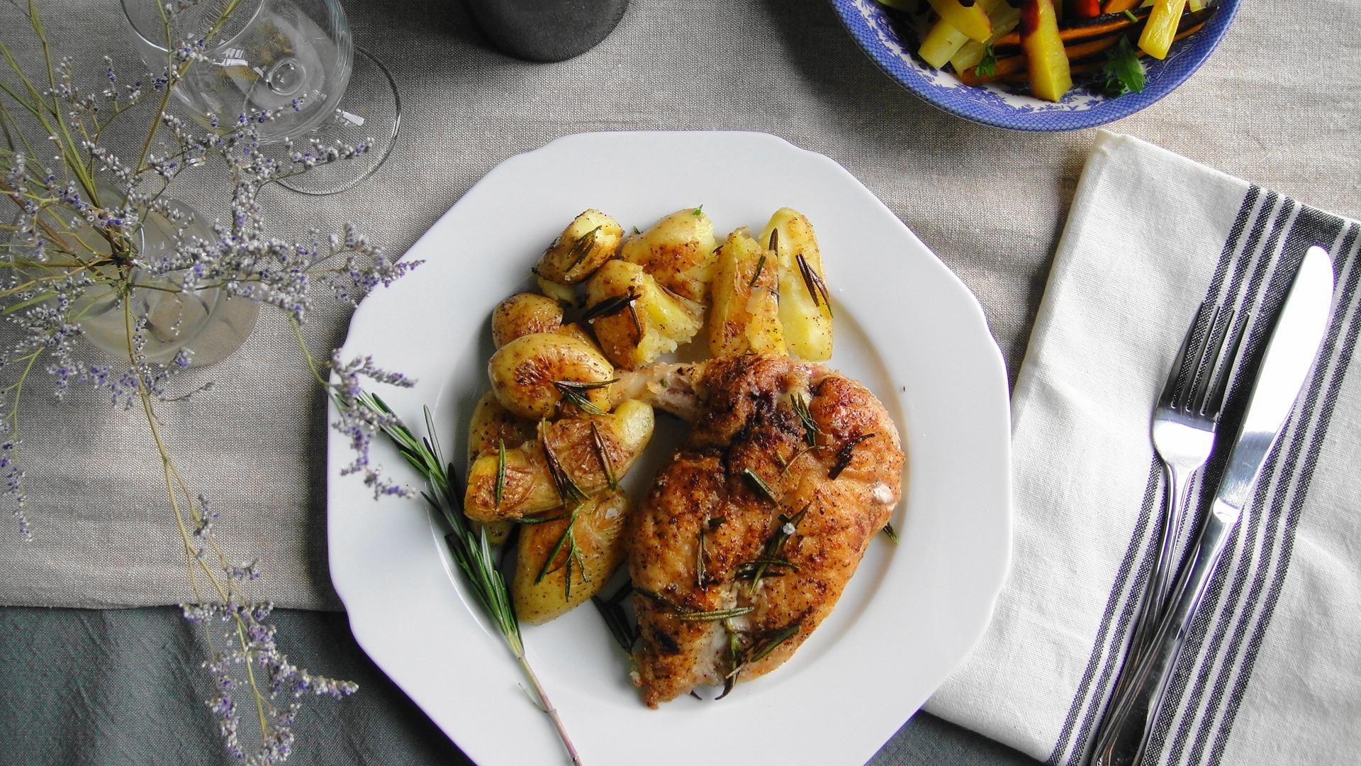 Pan Roasted Chicken | Freshnessgf.com