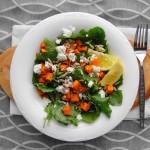 Baby Kale and Sweet Potato Salad   Freshnessgf.com