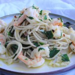 Garlic Shrimp Pasta | Freshnessgf.com