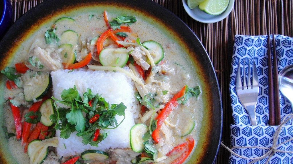 Thai Chicken Curry with Vegetables | freshnessgf.com