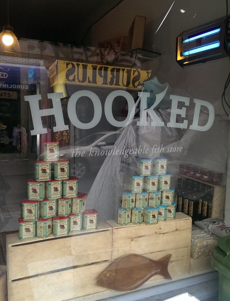 hooked front sign
